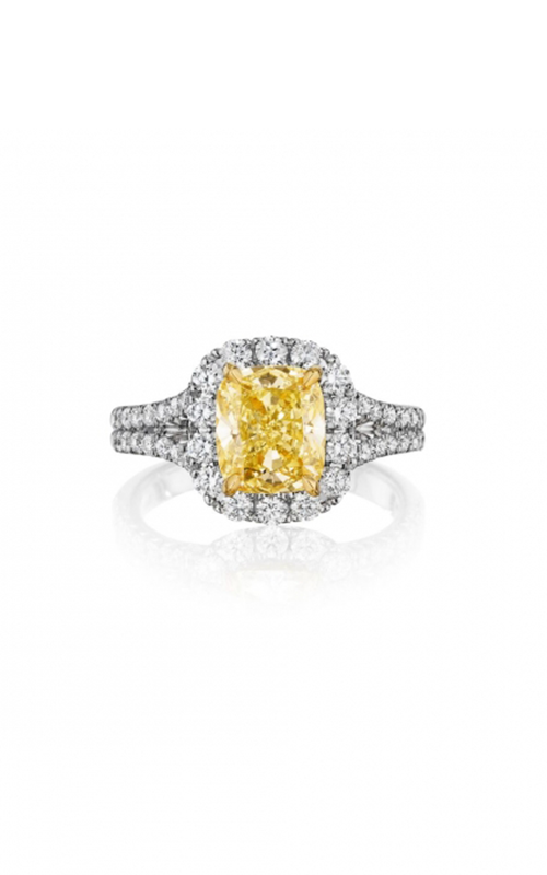 Henri Daussi Fancy Colors Engagement ring AMDSY product image