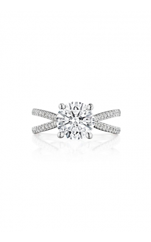Henri Daussi Brilliant Engagement Ring HAX product image