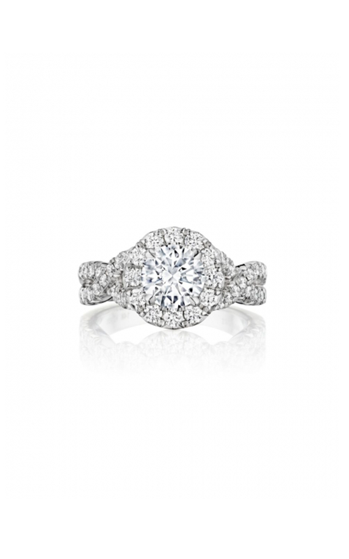Henri Daussi Brilliant Engagement Ring HAW product image