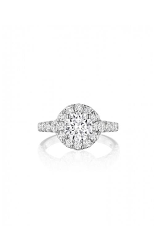 Henri Daussi Brilliant Engagement Ring HAV product image