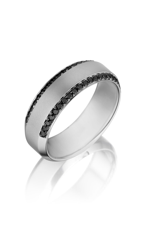 Henri Daussi Men's Wedding Bands Wedding band MB2H product image