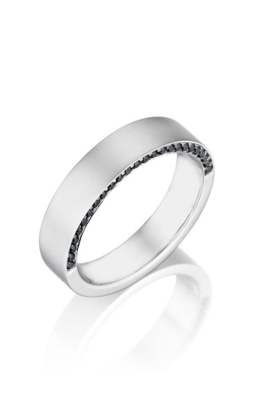 Henri Daussi Men's Wedding Bands MB39H product image