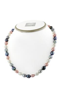 Honora Pink Tuxedo Necklace HN1462PTX18 product image