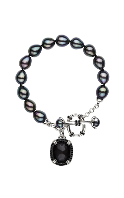 Honora Madison Hematite Bracelet LB5790BL product image