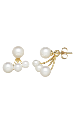 Honora Karat Classic Cluster Earrings LE7394WH-14K product image