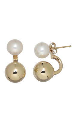 Honora Karat Classic Cluster Earrings LE7482WH-14K product image