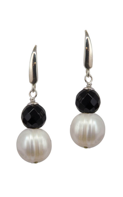 Honora Eclipse Earrings LE5576WH product image