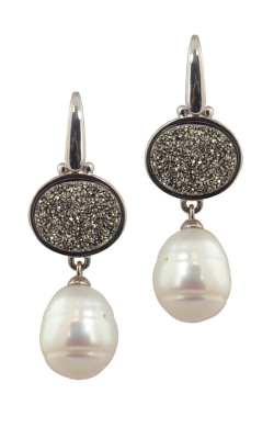 Honora Rock Star White Earrings LE5638WH product image