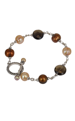 Honora Skinny Jeans Chocolate Bracelet LB5588CH product image