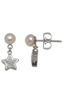 Honora Girls Earrings SE8415SWH product image