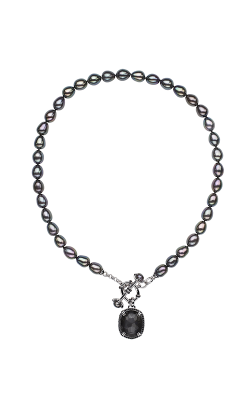 Honora Madison Hematite Necklace LN5790BL product image