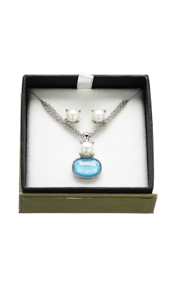 Honora Madison Turquoise Necklace LS5733WHTQ product image