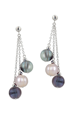 Honora Tuxedo Earrings LE4414BWG product image
