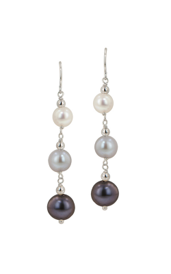 Honora Tuxedo Earrings LE5527BWG product image
