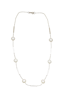 Honora Karat Classic Cluster Necklace LN7474WHYG18-14 product image