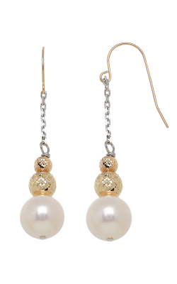 Honora Karat Classic Cluster Earrings DE8030BWH product image