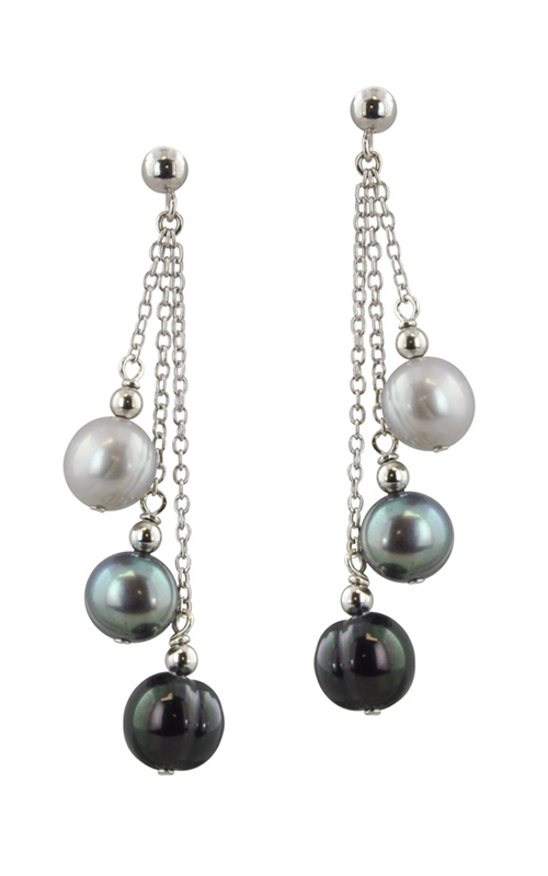 Honora Black Tie Earrings LE4414BLTIE product image