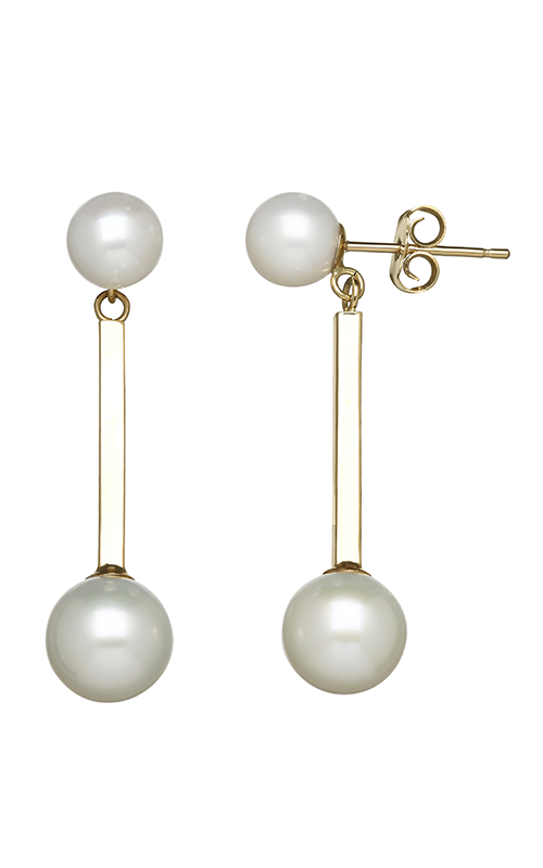 Honora Karat Classic Cluster Earrings LE7474WHYG-14K product image