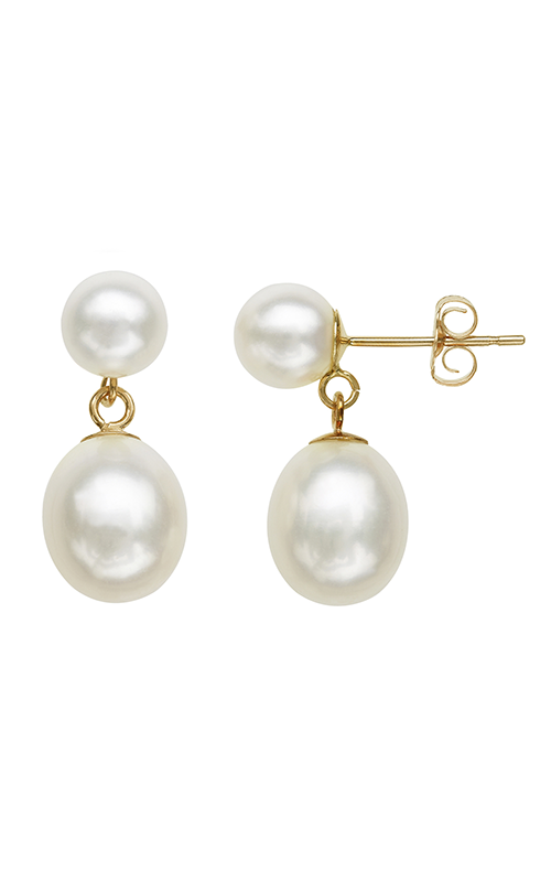 Honora Karat Classic Cluster Earrings LE5818WH product image