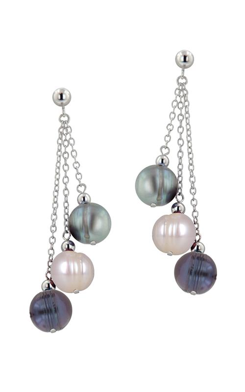 Honora Tuxedo Earrings LE4414BWG product image