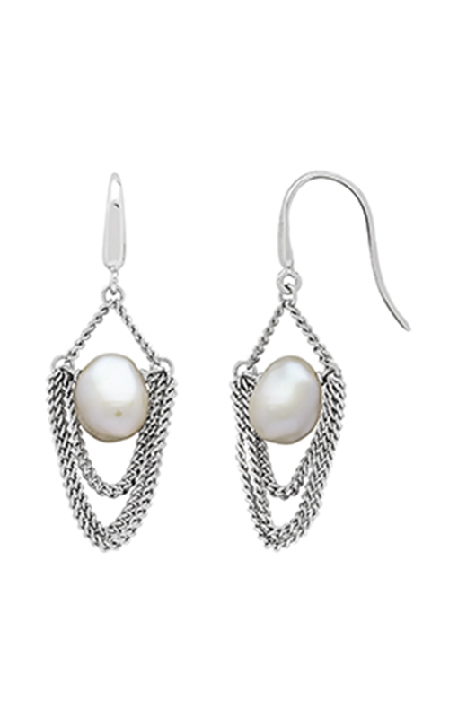 Honora Curb Appeal Earrings SE1265SWH product image