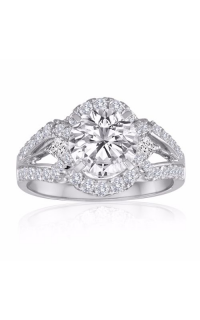 Imagine Bridal Engagement Rings 62006D-3 4