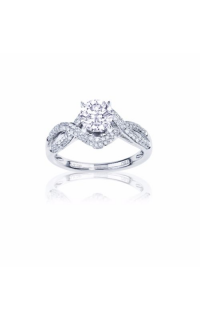 Imagine Bridal Engagement Rings 61102D-2 5
