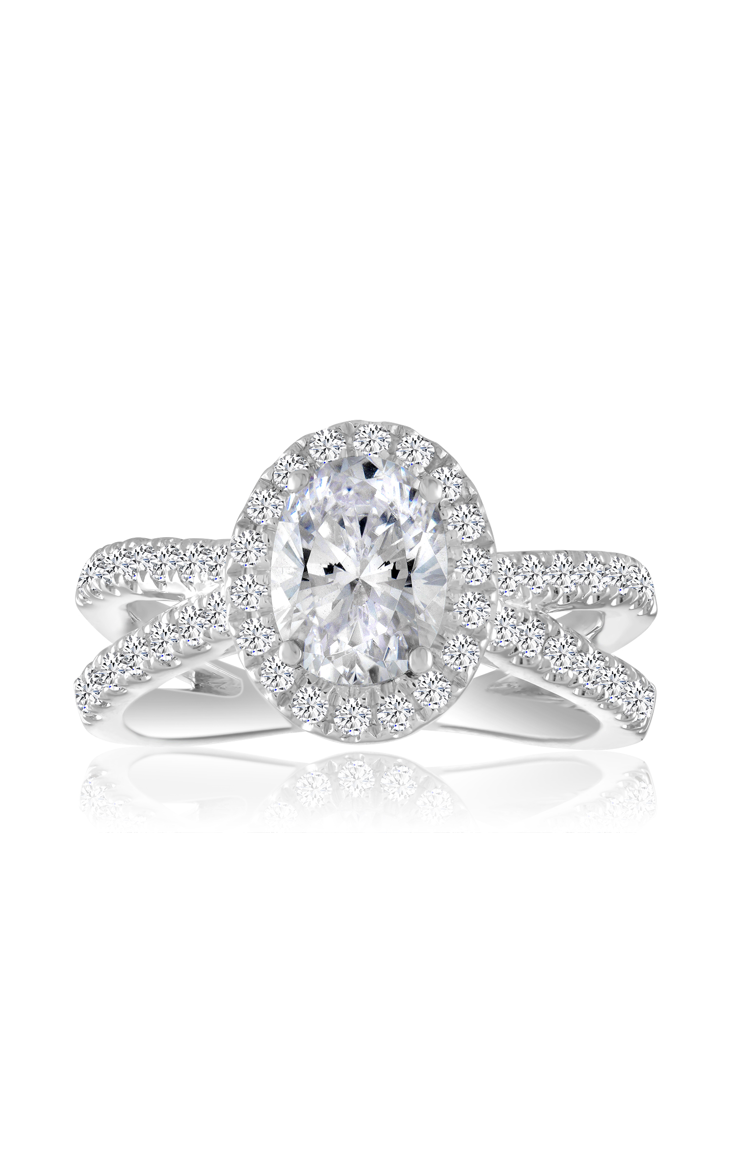 Imagine Bridal Engagement Ring 60466D-5/8 product image