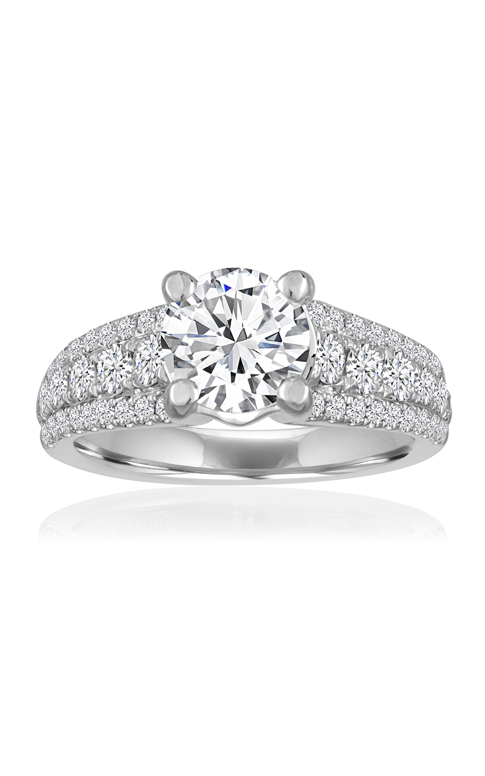 band wedding oculus collections ring yg danabronfman bridal diamond engagement rings