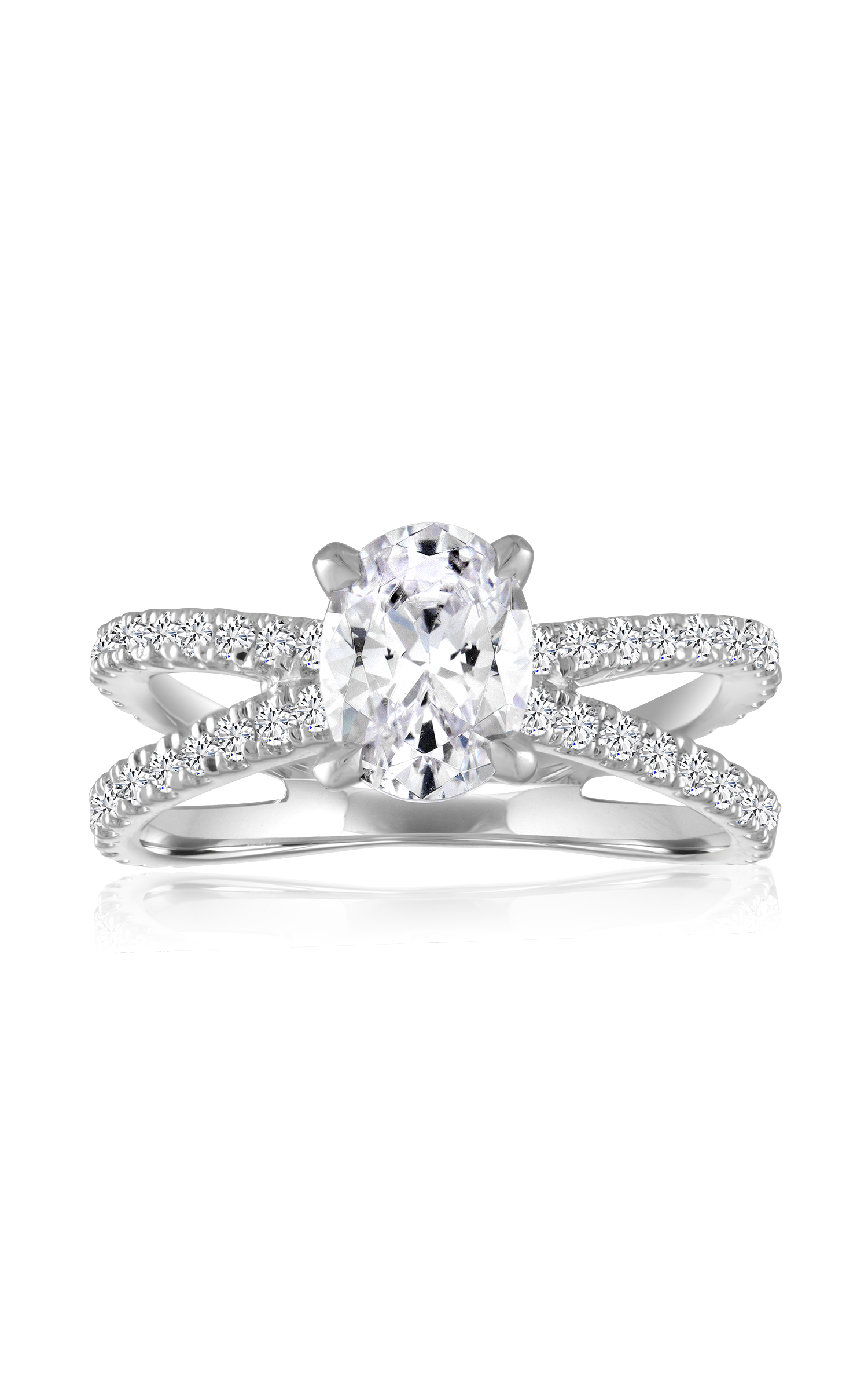 Imagine Bridal Engagement Rings 63555D-5 8 product image