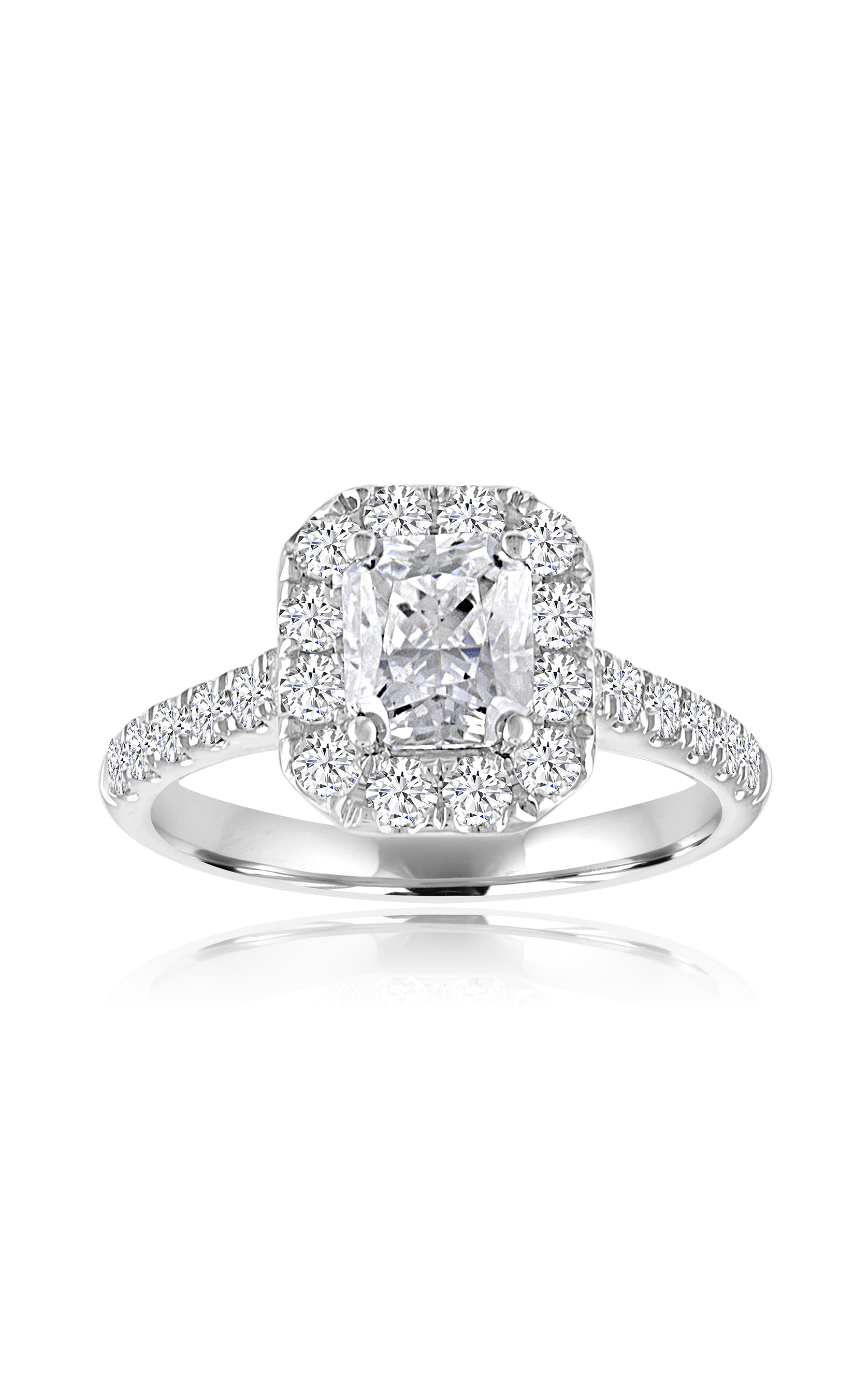 Imagine Bridal Engagement Ring 63246D-3/4 product image