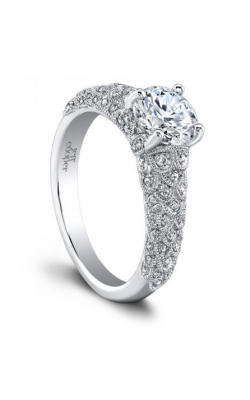 Jeff Cooper Arabesque Collection Engagement ring 1630RD product image