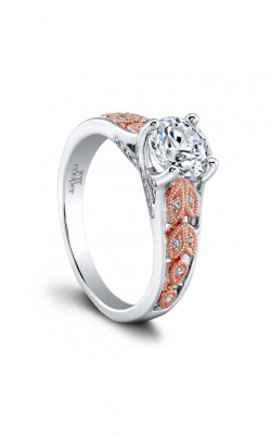 Jeff Cooper Laurel Collection Engagement ring 1635TTRD product image