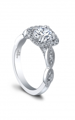 Jeff Cooper Laurel Collection Engagement Ring 1523H-RD product image