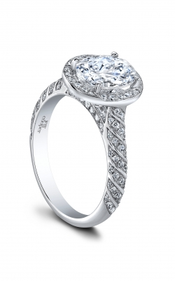 Jeff Cooper Lumiere Collection Engagement ring 3362-OV product image