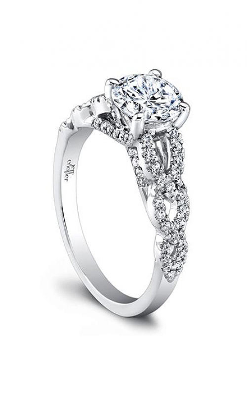 Jeff Cooper Arabesque Collection Engagement ring 1611 product image