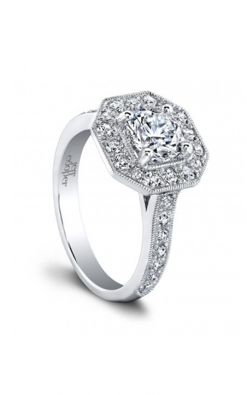 Jeff Cooper Heirloom Collection Engagement ring 1632RD product image