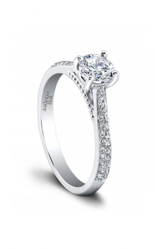 Jeff Cooper Tandem Collection Engagement ring 1505RDLW product image