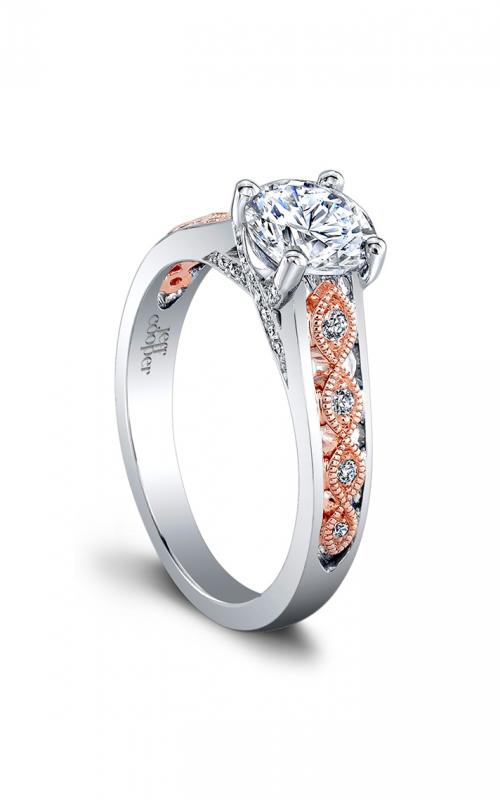 Jeff Cooper Laurel Collection Engagement ring 1521TT product image