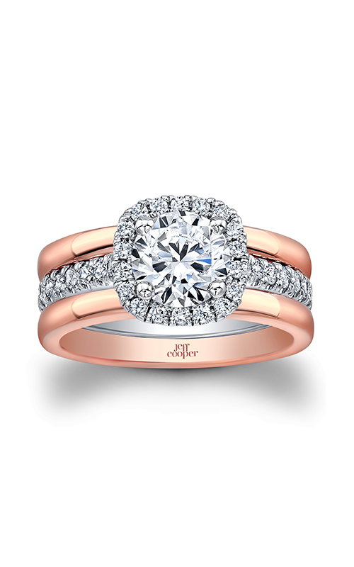 Jeff Cooper Trilogy Collection Engagement ring 1665TT product image