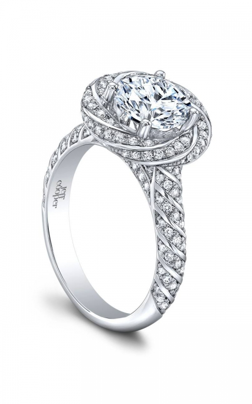 Jeff Cooper Lumiere Collection Engagement ring 3360-RD product image