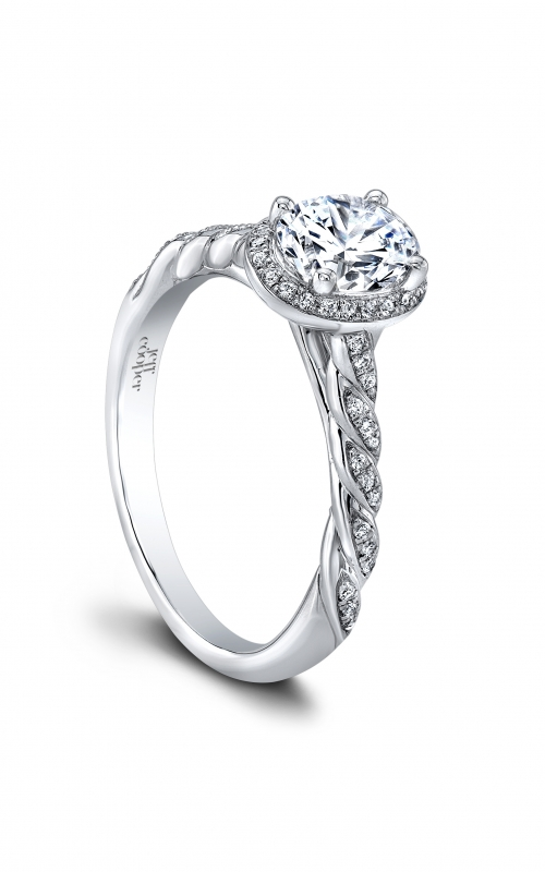 Jeff Cooper Lumiere Collection Engagement ring 3365-OV7X5 product image