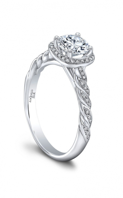 Jeff Cooper Lumiere Collection Engagement ring 3365-RD product image