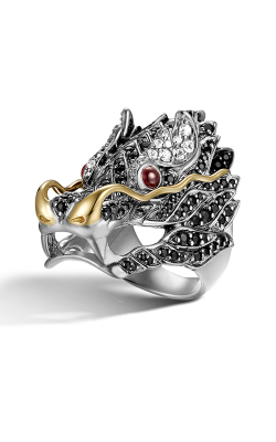 John Hardy Legends Naga Fashion Ring RZS658284AFRBBLSWSX7 product image