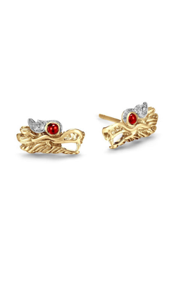 John Hardy Legends Naga Earrings EGS659703AFRBDI product image