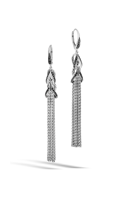 John Hardy Classic Chain Earrings EBS902534BLSBN product image