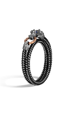John Hardy Legends Naga Men's Bracelet BMS656861OZBRDBLXL product image