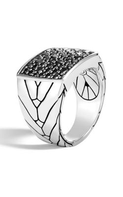 John Hardy Modern Chain Men's Ring RBS933374BLSX10 product image
