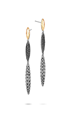 John Hardy Classic Chain Earrings EZS905404BLSBN product image