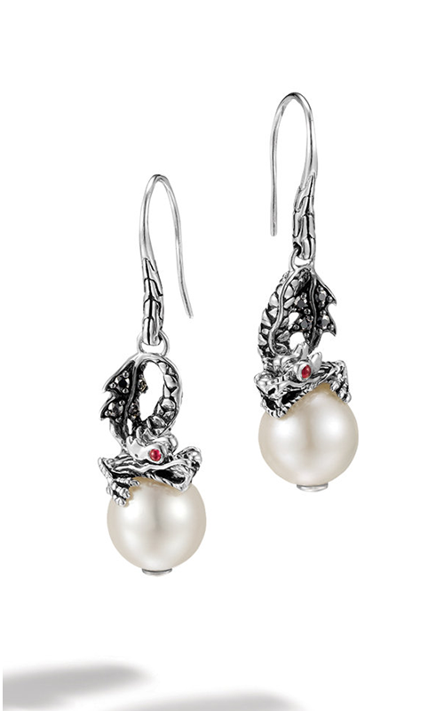 John Hardy Legends Naga Earrings EBS659991AFRBBLS product image